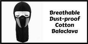 Breathable dust-proof cotton balaclava