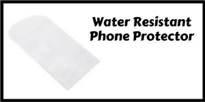 Water resistant phone protector
