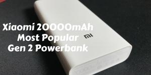 Xiaomi 20000mAh Powerbank 2